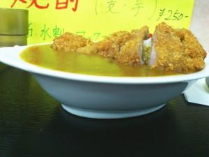 ジャガイモ系 優しい味の ルー200cc ご飯200g これが普通盛りで500円