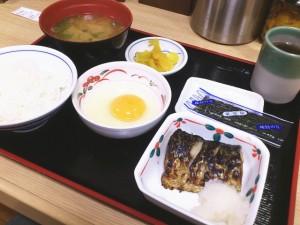 ザめしや24(ご飯大盛無量) 360円選べる朝定食