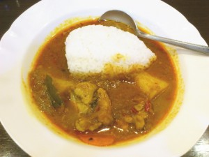 ムルギーカレーはシャバシャバ系の南インドスタイル