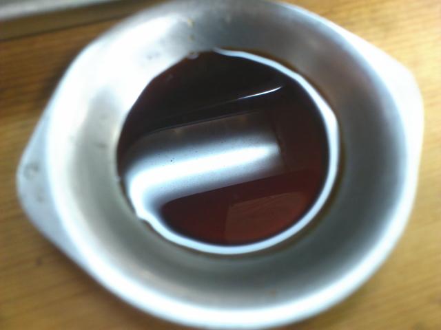 タレはシンプルな醤油系の濃い目