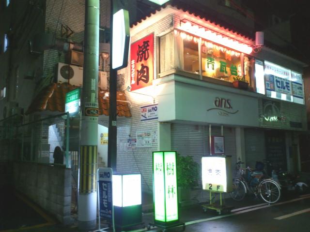 焼肉青瓦台カレー 大阪スパイシーやないカレー7