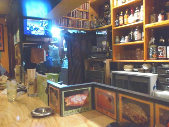いきなり、ナイスなDo-upが流れる店内。 そして、カウンターテレビは、70sTVショーのSoul trainが放映。