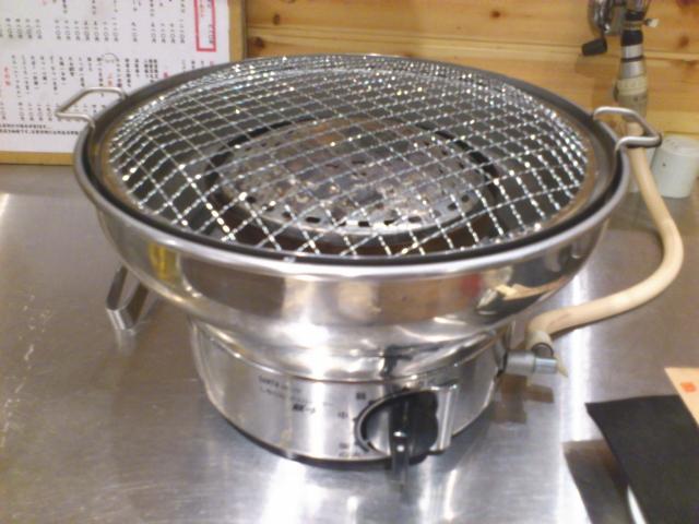 備長炭の熱風で焼く七輪と同じ感覚を味わえる。