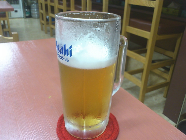 ビール470円