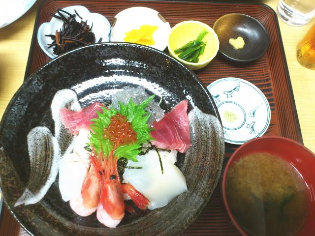 海鮮5色丼