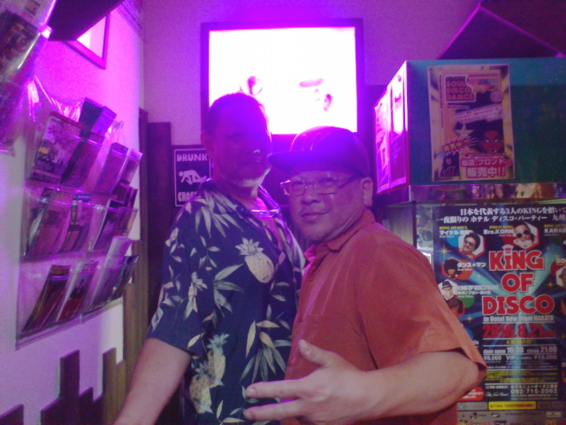 再訪ソウルナッツへ。  ドン田中さんと ボビー長野さんに連れられて。