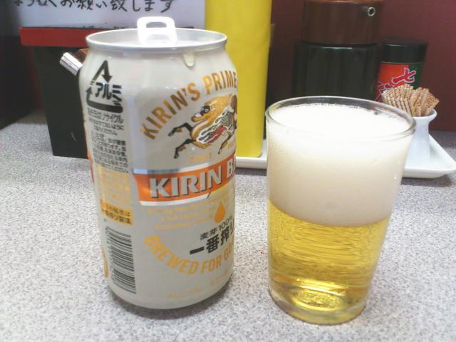 なに? ビールは缶300円と。 素敵だ。