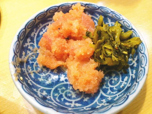 よりも既に惣菜は明太子メインで3回目のおかわり。